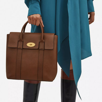 Mulberry バックパック・リュック Mulberry ベイズウォーターバックパック Oak Small 送料込(8)