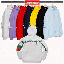 14 week SS18 Supreme Champion Hooded Sweatshirt
