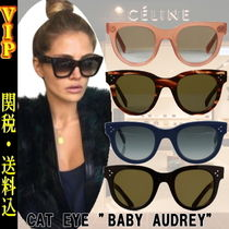 "◆◆VIP◆◆ CELINE ""CAT EYE""-BABY AUDREY  サングラス/送税込"