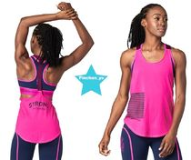 H30.5月新作☆【ZUMBA】STRONG By Zumba Tank(Pink)Z1T01503