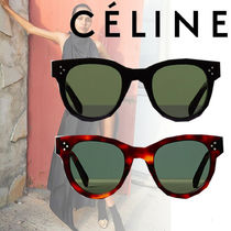 CELINE★Cat Eye sunglasses with mineral glass lenses  2色