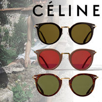 CELINE★Cat Eye Sunglasses in Acetate and Metal 3色
