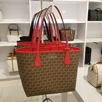 セール! MICHAEL KORS ◆ CANDY LARGE REVERSIBLE TOTE