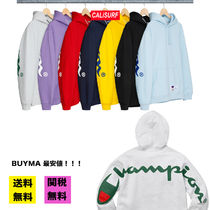 【BUYMA最安値】SS18 WEEK14 Supreme X champion フーディー