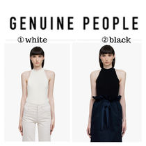 【GENUINE PEOPLE】●日本未入荷●Cotton Stretch Top