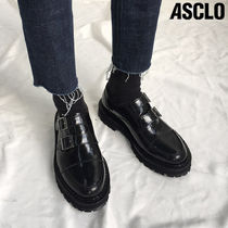 日本未入荷◆ASCLO◆DOUBLE MONK STRAP LEATHER SHOES◆送料込み