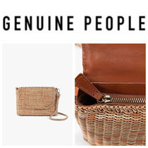 【GENUINE PEOPLE】●日本未入荷●Straw Shoulder Bag