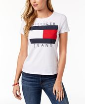 Tommy Hilfiger Cotton Embroidered Logo T-Shirt 2色