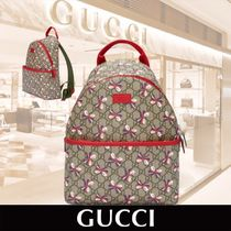 GUCCI Children's GG Sylvie bow Back Packリボン柄関税送料込み
