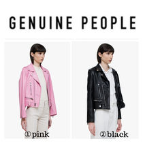 【GENUINE PEOPLE】●日本未入荷●Leather Moto Jacket