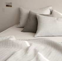 【Dailylike】 cotton linnen bedding set (布団+枕カバー2)