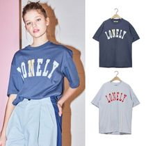 NOHANT(ノアン) Tシャツ・カットソー ☆NOHANT☆ LONELY/LOVELY SHORT SLEEVE T SHIRT 2色 男女兼用