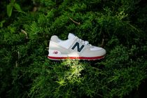 【関税/送料無料】New Balance ML574ESA (Nimbus Cloud/Navy)