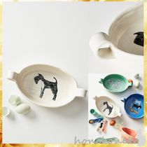 調理器具 【国内発 Anthropologie 送料込】Painted Pup Gratin Dish