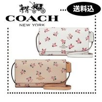 【SALE】Coach iPhone ケース クロスボディー with Floral Bloom