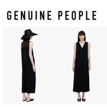 【GENUINE PEOPLE】●日本未入荷● Sleeveless Jumpsuit