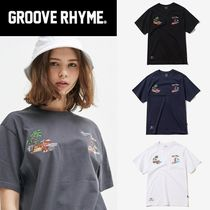 GROOVE RHYME(グルーヴライム) Tシャツ・カットソー ☆GROOVE RHYME ☆ 2018 SUPERPACK SOUVENIR T-SHIRTS 男女兼用