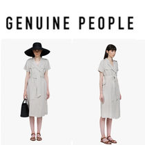 【GENUINE PEOPLE】●日本未入荷● Breasted Midi Dress
