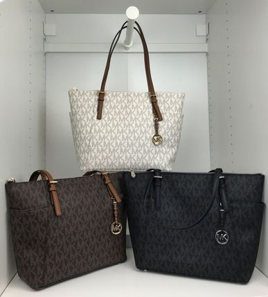 Michael Kors マザーズバッグ 【即発3-5日着】MICHAEL KORS★JET SET ITEM EW TZ ★トート