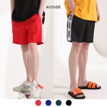 ★ACOVER★ CHILL OUT TAPE HALF PANTS (ACP18117)