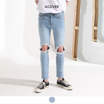 ★ACOVER★ DOUBLE CRUSH SKINY JEANS (ACP18208)