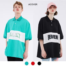 ACOVER(オコボ) Tシャツ・カットソー ★ACOVER★ RANGE OVER FIT COLLAR T-SHIRTS (ACT18072)