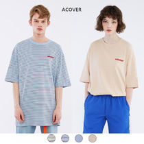 ACOVER(オコボ) Tシャツ・カットソー ★ACOVER★ DIVERSE STRIPE T-SHIRTS (ACT18075)