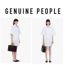 【GENUINE PEOPLE】●日本未入荷●Oversized Sleek Oxford Shirt
