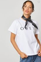 OBEY(オベイ) Tシャツ・カットソー OBEY ロゴ Tシャツ☆