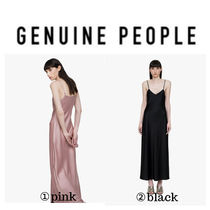 【GENUINE PEOPLE】●日本未入荷●Slip Maxi Dress