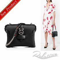 ★18SS★【Louboutin】Rubylou Small ショルダーバッグ/Black