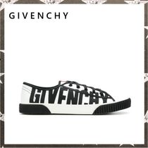 GIVENCHY / LOGO CANVAS SNEAKERS ホワイト【関税・送料込】