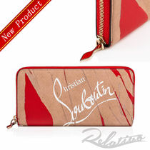 ★18AW★【Louboutin】W Panettone Wal Creative Leather Wallet