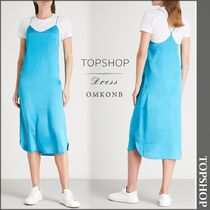 【国内発送・関税込】TOPSHOP★Satin slip dress