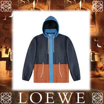 18SS◆LOEWE◆Light Hiking Jacket Blue/Brown
