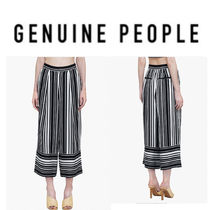 【GENUINE PEOPLE】●日本未入荷●Striped Pants