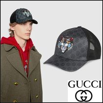 GUCCI_正規品_ アングリーキャット キャップ☆関税・送料込み☆