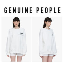 【GENUINE PEOPLE】●日本未入荷●Printed White Pullover