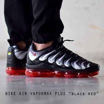 NIKE AIR VAPORMAX PLUS ブラック レッド