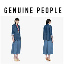 【GENUINE PEOPLE】●日本未入荷●Crop Sleeve Long Blazer