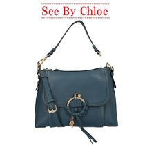 【See by Chloe】small Joan leather bag☆ジョアンレザーバッグ
