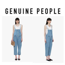 【GENUINE PEOPLE】●日本未入荷●Cotton  Frayed Overal