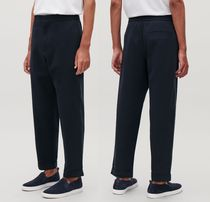 """COS(コス) パンツ """"COS MEN"""" TAPERED COTTON TROUSERS NAVY"""