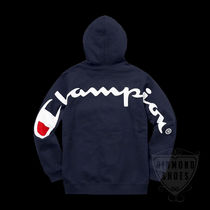 SS18 SUPREME CHAMPION HOODED SWEATSHIRT S-XL 送料無料 WEEK14