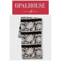 【OPALHOUSE】最新●Mallorca Jacquard Oversized End Bed Throw