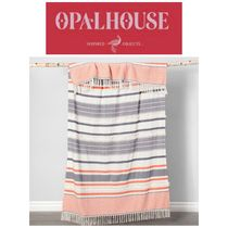 【OPALHOUSE】最新●Coral Moroccan Oversized End of Bed Throw