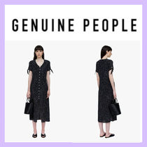 【GENUINE PEOPLE】●日本未入荷●Button Down Midi Dress