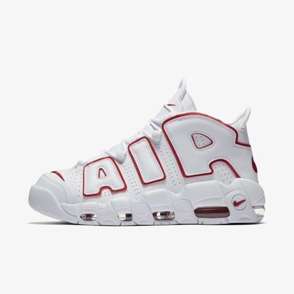 人気商品 NIKE AIR MORE UPTEMPO OLYMPIC 96 white red