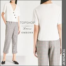【国内発送・関税込】TOPSHOP★Ashley V-neck crepe top