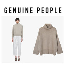 【GENUINE PEOPLE】●日本未入荷●Cropped Turtleneck Sweater